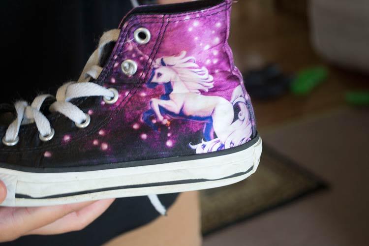 galaxy sneaker