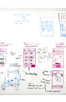 Interaction design sketches